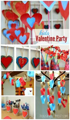 Valentines Party for kids ~ Lots of fun ideas!