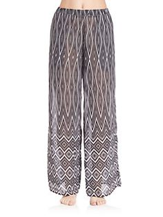 65157c8d75 Gottex Swim - Infinity Long Pants Coverup Swimwear Cover Ups, Swimsuit Cover  Ups, Beach
