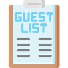 Guest List free vector icons designed by Freepik Vector Icons, Vector Free, Search Icon, Edit Icon, Guest List, More Icon, Party Packs, Icon Font, Icon Design