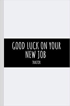 Good Luck On Your New Job: Farewell Gift For Colleague Coworker- Space to sign the cover - Seniors Going Away Journal Log Retirement Family Friend Leaving Farewell Gift For Colleague, Farewell Gifts, Friends Leave, Friends Family, Gifts For Boss, Going Away, Journal Covers, Good Luck, New Job
