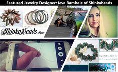 Featured Beaded Rope Designer: Ieva Bambale of Shinkabeads Rope Jewelry, Jewelry Designer, Jewelry Making Tutorials, Interview, Journey, Magazine, Inspired, Board, Artist