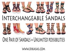 Sandals Sandals Sandals!! Love it!! One Pair Only $19.99 Then you are set for the summer!