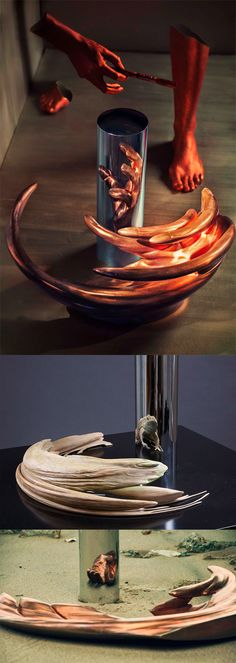 The Skewed, Anamorphic Sculptures and Engineered Illusions of Jonty Hurwitz   WOW this is amazing! To think of what is out there that is possible to do! The possibilities are endless.        x.