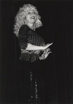 President Elizabeth T. Kennan as Polly Darton in faculty show, 1993 :: Archives & Special Collections Digital Images
