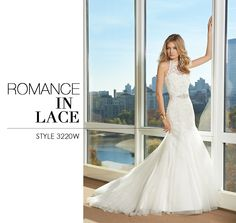 Camille La Vie Bridal Wedding Dress comprised in Lace