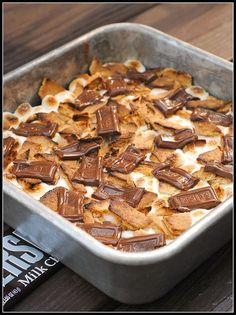 S'more brownies...gotta try these!