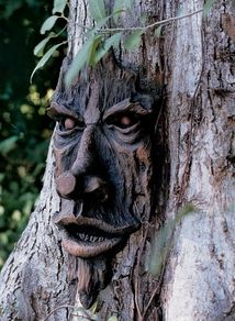 Design Toscano The Spirit of Nottingham Woods Greenman Tree Garden Statue - Garden Statues at Hayneedle Garden Trees, Lawn And Garden, Garden Art, Forest Garden, Woodland Garden, Garden Paths, Garden Design, Fairy Statues, Garden Statues