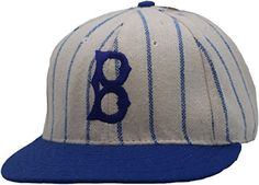 Vintage Brooklyn Dodgers Cooperstown Collection Old Timers Fitted Hat  A100086 (7 ) at Amazon Men s Clothing store  DodgersBrooklynBaseball 2d060a2c38bd