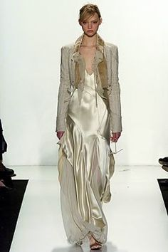 J. Mendel Fall 2004 Ready-to-Wear Fashion Show - Gemma Ward, Gilles Mendel
