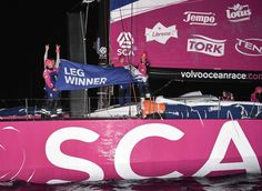 A sweet victory for Team SCA in Lorient - Team SCA in the Volvo Ocean Race