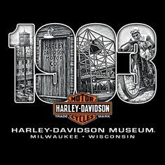 - by Michelle Janich Harley Davidson Decals, Harley Davidson Museum, Harley Davidson Wallpaper, Harley Davidson Motor, Harley Davidson T Shirts, Harley Davison, Shirt Designs, Motorcycles, Trash Polka