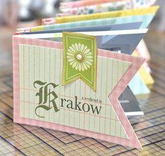 Blogs - Paula Pascual | Sizzix.co.uk - Mini book banner - tutorial