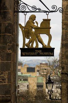 The Writers' Museum. Edinburgh, Scotland