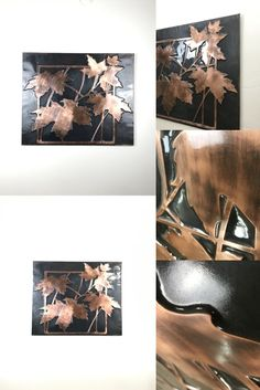 Modern wall and home decor. The dance of art with copper. Fully handmade copper designs. It will add beauty to your home. Copper Wall Decor, Sycamore Leaf, Copper Crafts, Handmade Copper, Modern Wall, Home Crafts, Etsy Seller, Dance, Wall Art