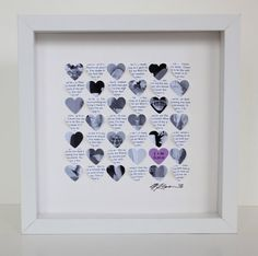 Picture Frames For A Wedding Gift : ... Gifts on Pinterest Personalized anniversary gifts, Anniversary gifts