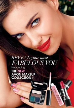 Reveal your Most Fabulous You. Introducing the NEW Avon Makeup Collection