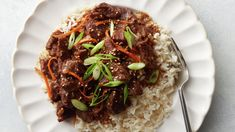 Slow-Cooker Mongolian Beef - Here's something that should make every home cook happy: There's tons of flavor in less expensi - Crock Pot Slow Cooker, Slow Cooker Recipes, Crockpot Recipes, Cooking Recipes, Meat Recipes, Goulash Recipes, Recipies, Slow Cooking, Mongolisches Rind