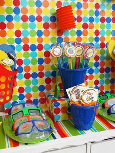 {Whimsical Feature} Summer Pool Party!