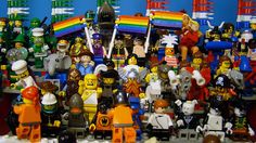 LEGO minifig Crowd by fallentomato, via Flickr
