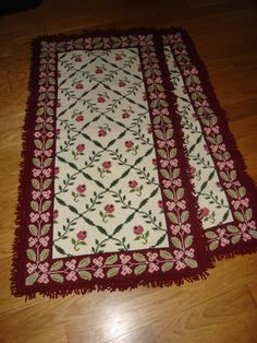 Arraiolos rug for bedroom. Size can be changed larger