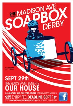 soap box derby posters - Google Search | Soapbox Racers ...