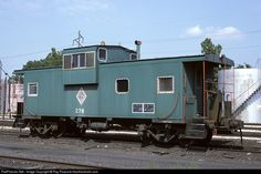 RailPictures.Net Photo: CIM 276 Chicago & Illinois Midland caboose at Springfield, Illinois by Ray Peacock-heartlandrails.com
