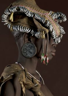 An Ethiopian girl photgraphed by Jaime Ocampo-Rangel