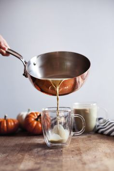 "grayskymorning: ""Pumpkin Spice Matcha Latte """