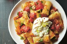 Aida Mollenkamp's Heirloom Tomato Burrata Pasta