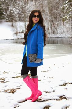 i really want a pair of these boots!! i am ruining my leather ones in the snow