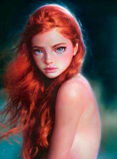 Paintable.cc | 50 Stunning Digital Painting Portraits: Irakli Nadar