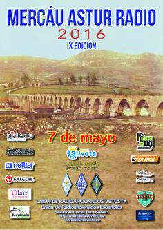 La Unión de Radioaficionados Vetusta (Oviedo) organiza el próximo sábado 7 de mayo el Mercáu Astur Radio 2016 en el Hotel Silvota, que cuenta para esta celebración con dos salones de 450 metros cua…