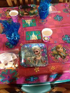 Frozen party for Eva actual.