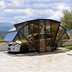 The Italy-based Gazebox is an all purpose modular garage to protect your car from the elements.