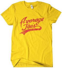 $6 for mens and $9 for womens average joes dodgeball movie t shirt image tee shirt textual tees