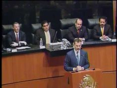 Discurso del Rey de España, Felipe VI, en sesión Solemne de la Comisión Permanente - YouTube - June 19th of 2014.