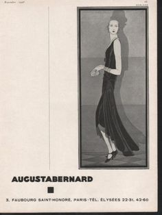 21 Best Augusta Bernard images | Fashion history, 1930s