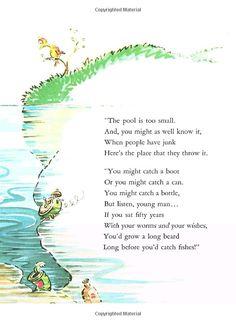 Amazon.com: McElligot's Pool (Classic Seuss) (9780394800837): Dr. Seuss: Books