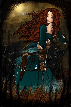 Brave ~ by SueJung ~ created using the Neptune's Daughter doll maker | DollDivine.com