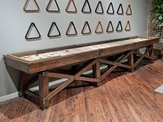 California House Loft Shuffleboard Table - Robbies Billiards