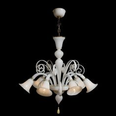 RIALTO chandelier A story away, but always present, allows the chandelier Rialto, handcrafted Murano glass to enrich any room where you want to illuminate with class.