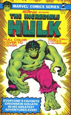 The Incredible Hulk Marvel Comics Series Paperback - April 1978, First Print, As New-, $22 - cover artwork by John Buscema