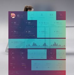 The increasing popularity of wearable technology like the Apple Watch, and activity trackers, think Fitbitand UP by Jawbone, has us thinking about design in a whole different way. These devices all make data readily available to wearers of the technology and with that comes a whole new opportunity for designing data. This goes beyond numbers...