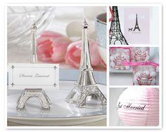night in Paris theme