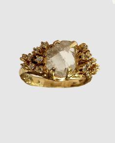 "unearthen-jewelry: ""Unearthen Phaedra Ring http://shop.unearthen.com/products/phaedra-ring """