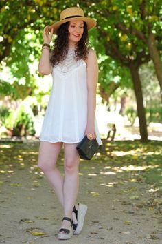 SOFT WHITE DRESS - Black Dress Inspiration