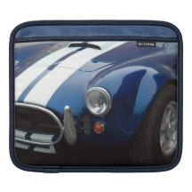 Classic Sports Cars Design Sleeves For iPads