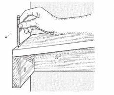 Fit a Fixed Shelf: Step 2