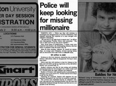 Clipping found in The Ottawa Journal in Ottawa, Ontario, Canada on Jun Police will keep looking for missing millionaire Ottawa, Police, University, Student, Day, Law Enforcement, Colleges