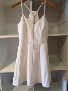 White Parker dress - summer staple!